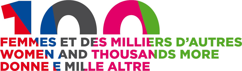 100 donne e mille altre logo